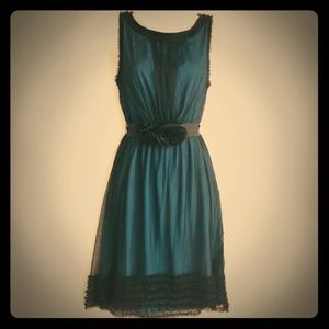 Anthropologie Moulinette Souers Lace & Tulle Dress